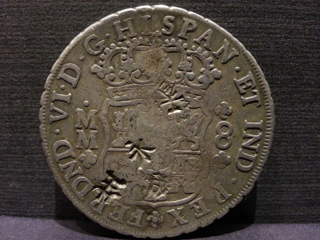 Mexico 1770-MoMF 8 Reales with counterstamp real? 20130915