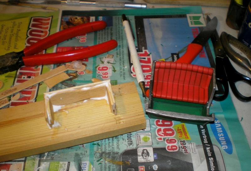 Einachsiger Buggy von Playmobil - Umbau in Variationen 129j2c11