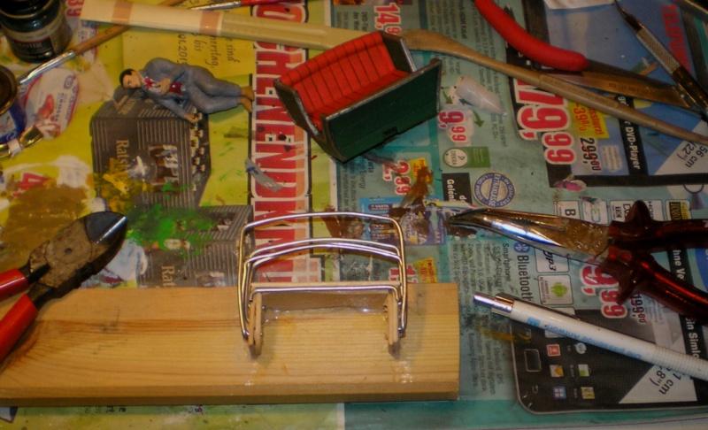 Einachsiger Buggy von Playmobil - Umbau in Variationen 129j3a10