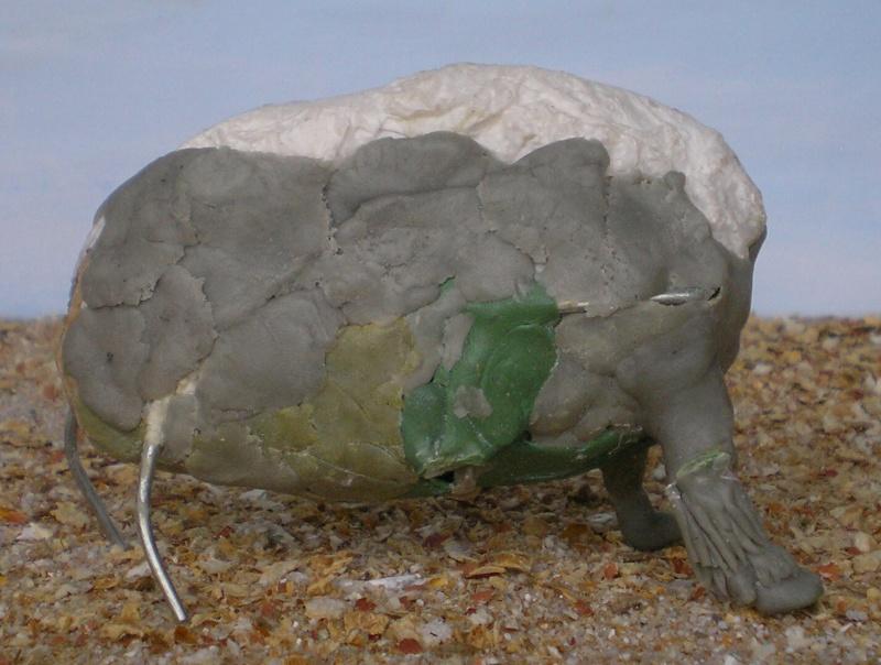 Bison-Kuh in eigener Modellierung für die Figurengröße 7 cm 137e4d12