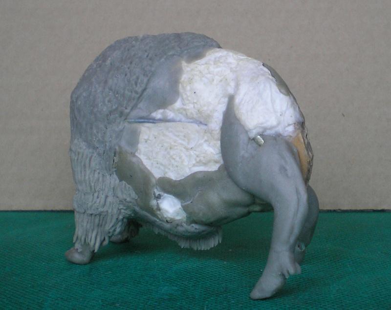 Bison-Kuh in eigener Modellierung für die Figurengröße 7 cm 137e4h16