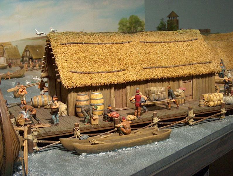 Skuldelevschiff - Ein älterer Bausatz von Billing Boats in 1:25  - Seite 10 Haitha11