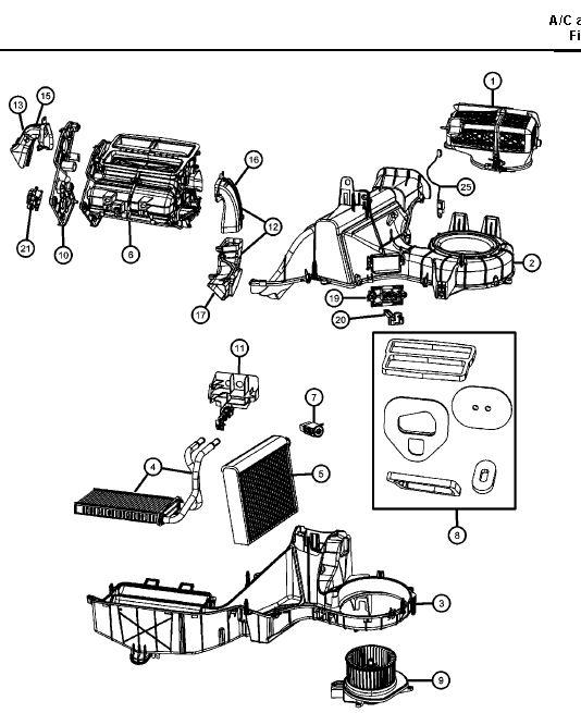 Chauffage intérieur aléatoire sur Dodge Nitro Clim_n11