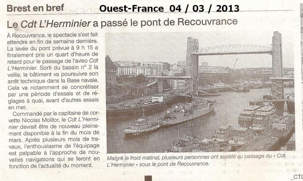 [Les ports militaires de métropole] Port de BREST - Page 2 Numari16