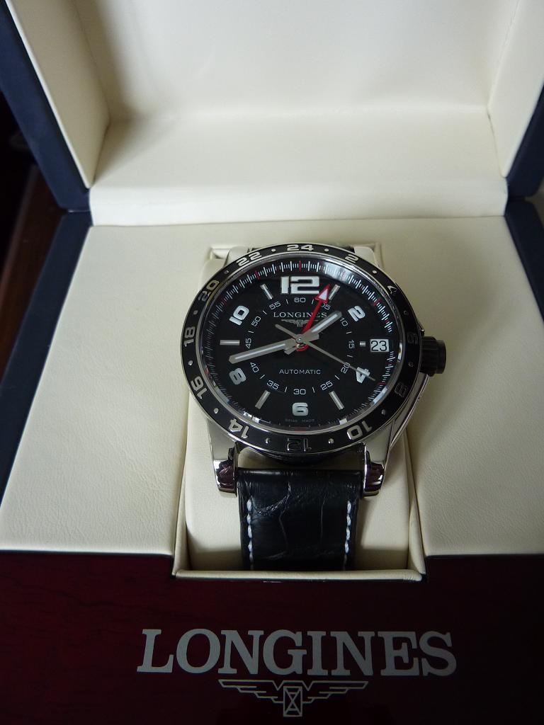Longines - Votre avis sur cette Longines Admiral GMT P1000810