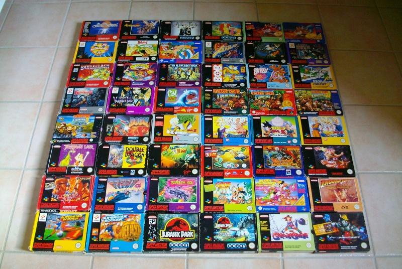 La collec de Chugg prochain arrêt Full Set NES puis GB et enfin SNES Imgp1511