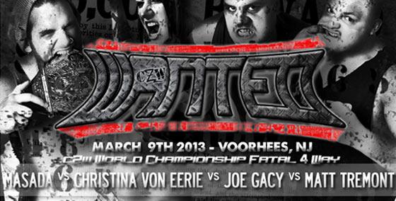 CZW Wanted du 09/03/2013 Masada10
