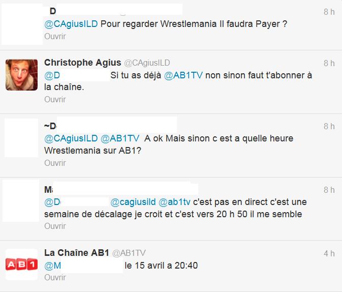 [Divers] Les PPV de la WWE sur une chaine française ! Wm10