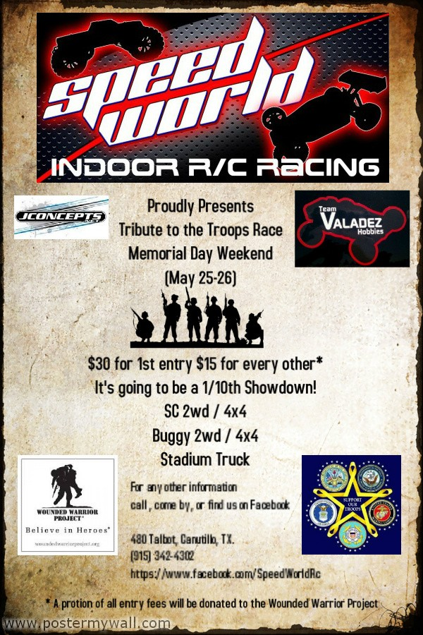 Memorial Day Weekend Tribute to the Troops Race Swtt310