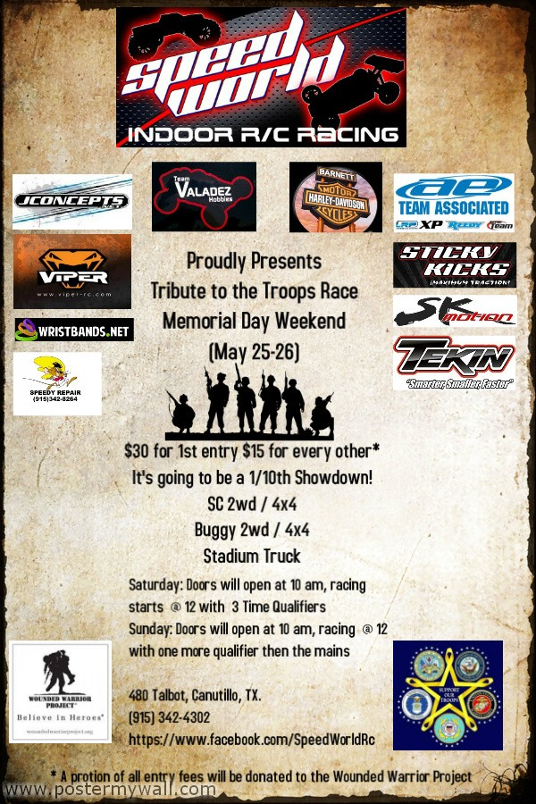 Tribute To The Troops Memorial Day Race May 25-26, 2013 Tribut14