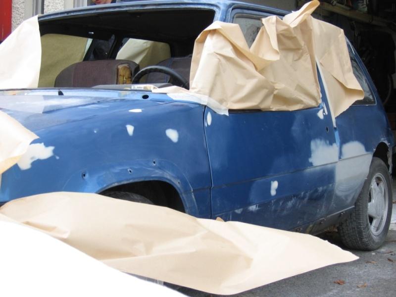 Renault 5 GT Turbo phase II Bleu lumiére 495  Photo_14