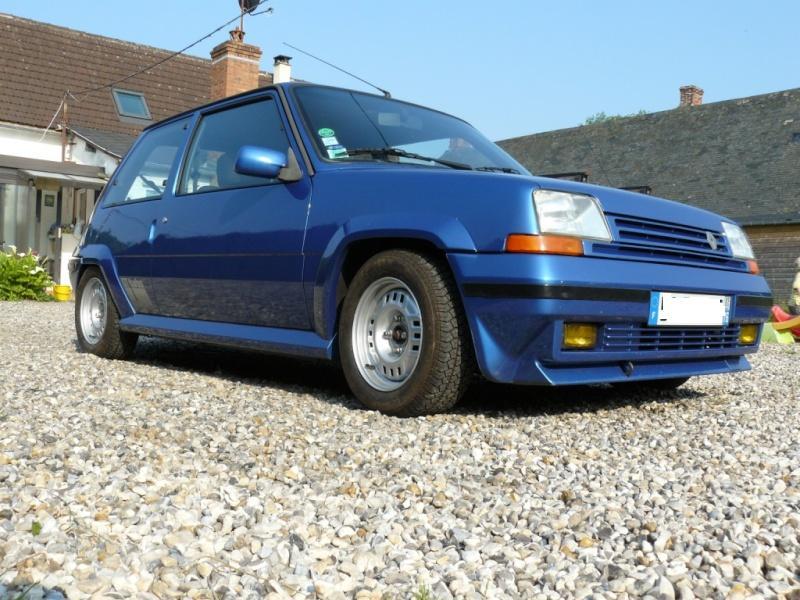 Renault 5 GT Turbo phase II Bleu lumiére 495  Photo_21