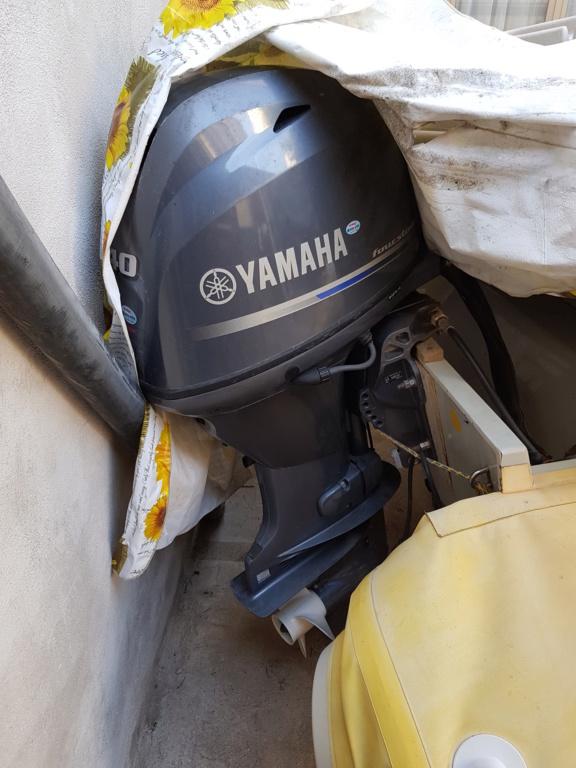 [Vendo][scambio] motore yamaha 40/60 gommone carello 20181112
