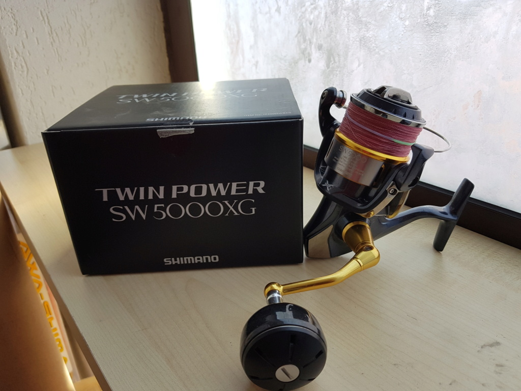 [Vendo] combo st.croix avid serie marrone e twin power 5000 swb 20190215