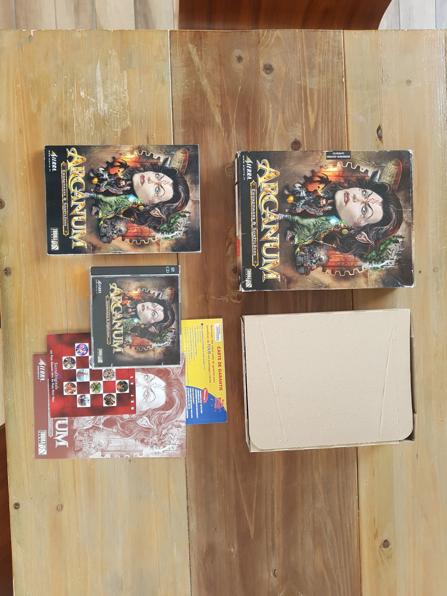 [vds] Jeux PC big box Might & Magic / Arcanum / Oddworld / Zork Nemesis / King's quest / Diablo II + extension etc...... 20200115