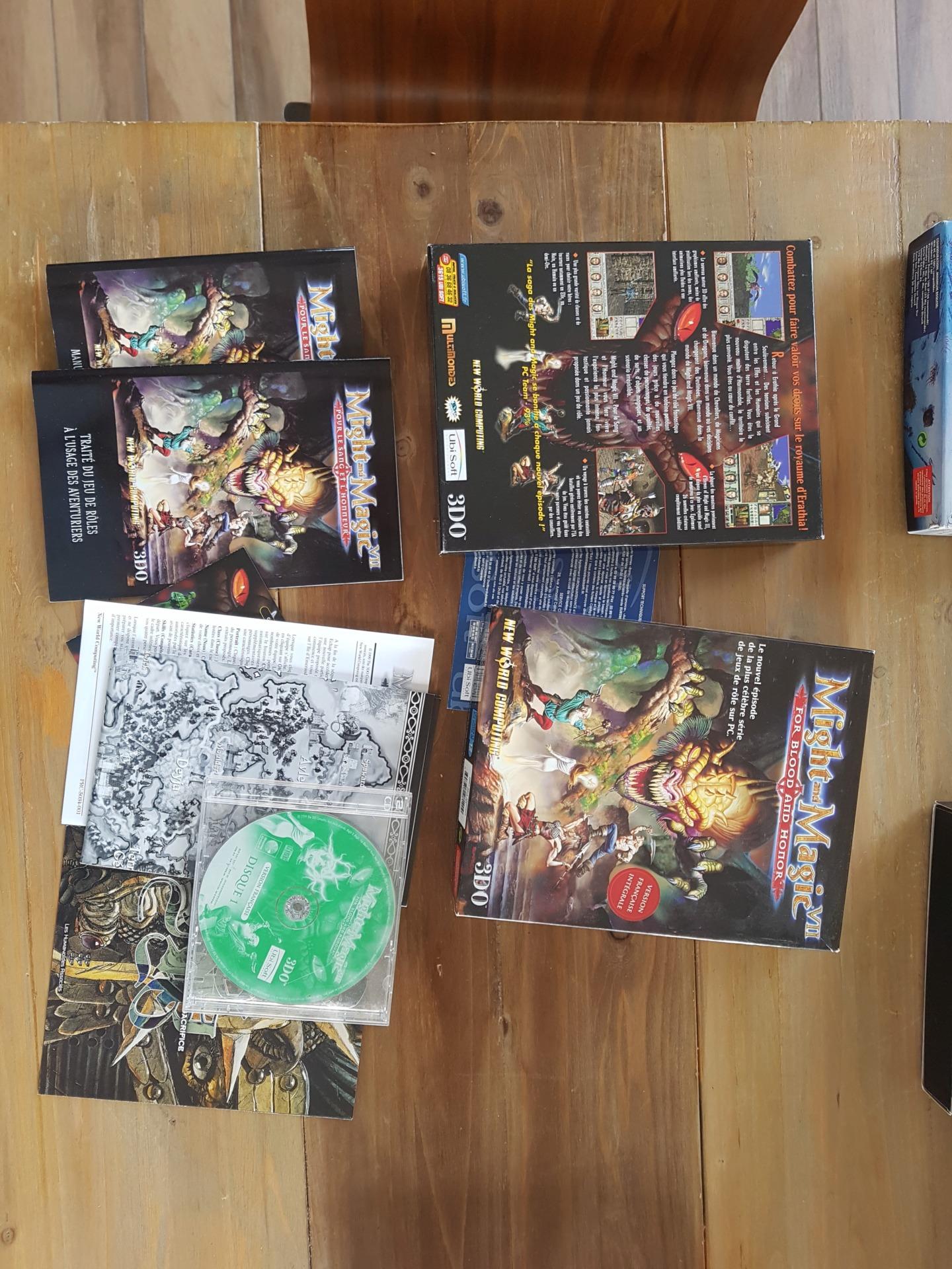 [vds] Jeux PC big box Might & Magic / Arcanum / Oddworld / Zork Nemesis / King's quest / Diablo II + extension etc...... 20200130