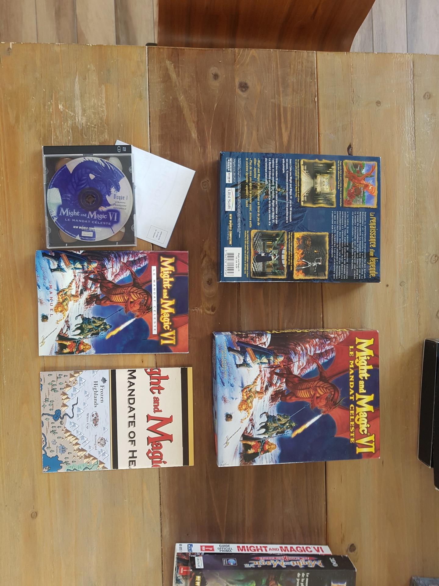 [vds] Jeux PC big box Might & Magic / Arcanum / Oddworld / Zork Nemesis / King's quest / Diablo II + extension etc...... 20200131