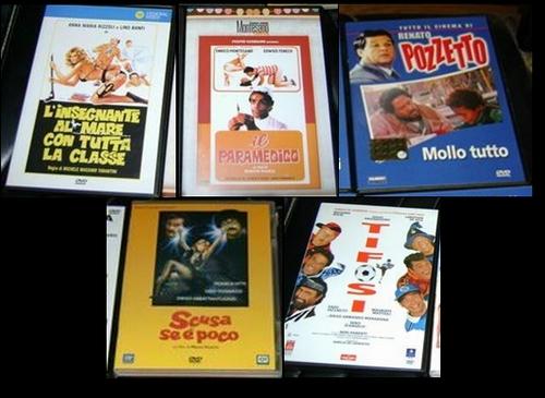 LOTTO DVD ORIGINALI COMMEDIA ALL'ITALIANA 6movie10