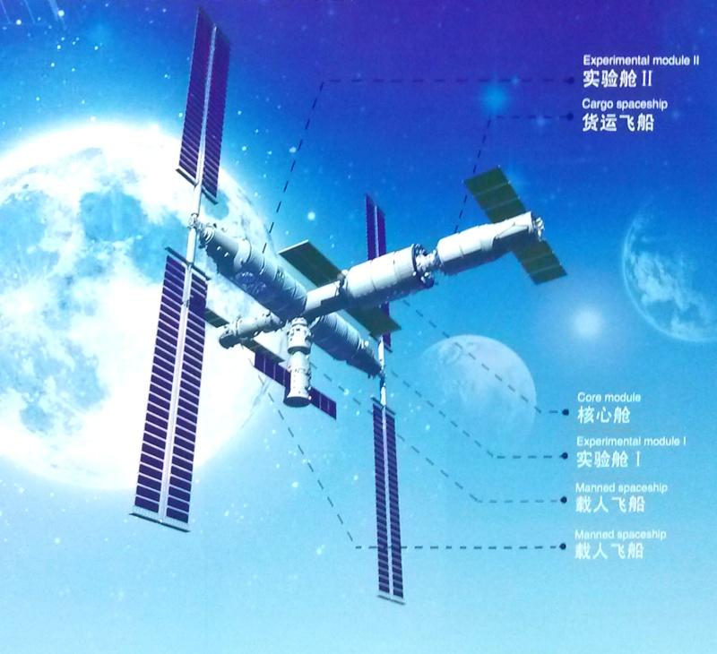 La Chine veut ouvrir les portes de sa station spatiale 13092810