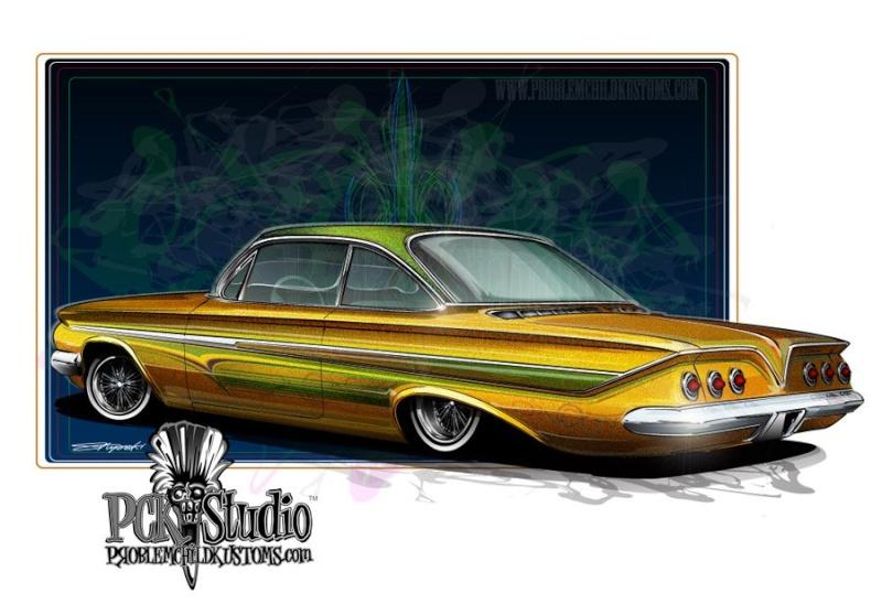 Chevrolet 1961 - 64 custom and mild custom 30219510