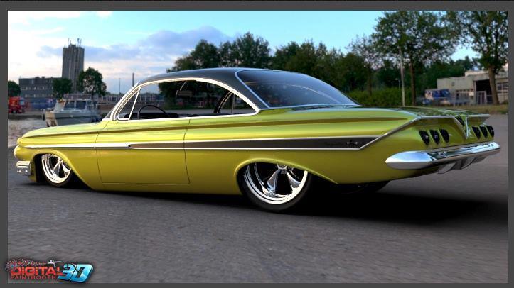 Chevrolet 1961 - 64 custom and mild custom 57458010