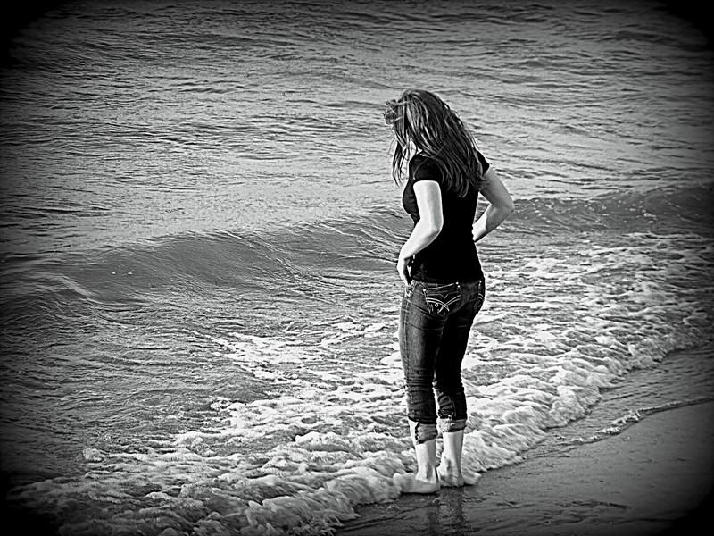 solitaire face à la mer P7291010