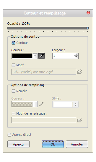 Tutoriel aide screens. [Cadre/Ombre/Avatars] Etape-10