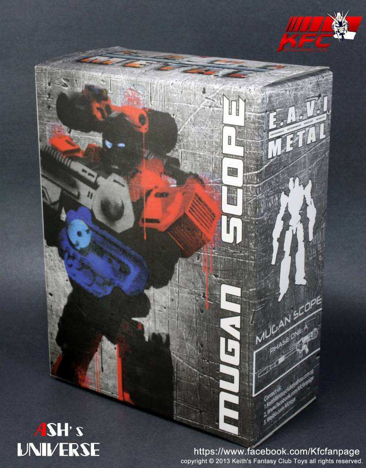 [KFC Toys] Produit Tiers - EM-01 Mugan Scope - aka Perceptor/Percepto 2810