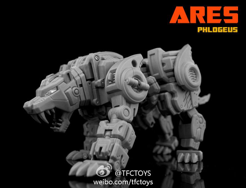 """[TFC Toys] Produit Tiers - Jouet """"Projet Ares"""" - aka Prédacons 8271cf13"""