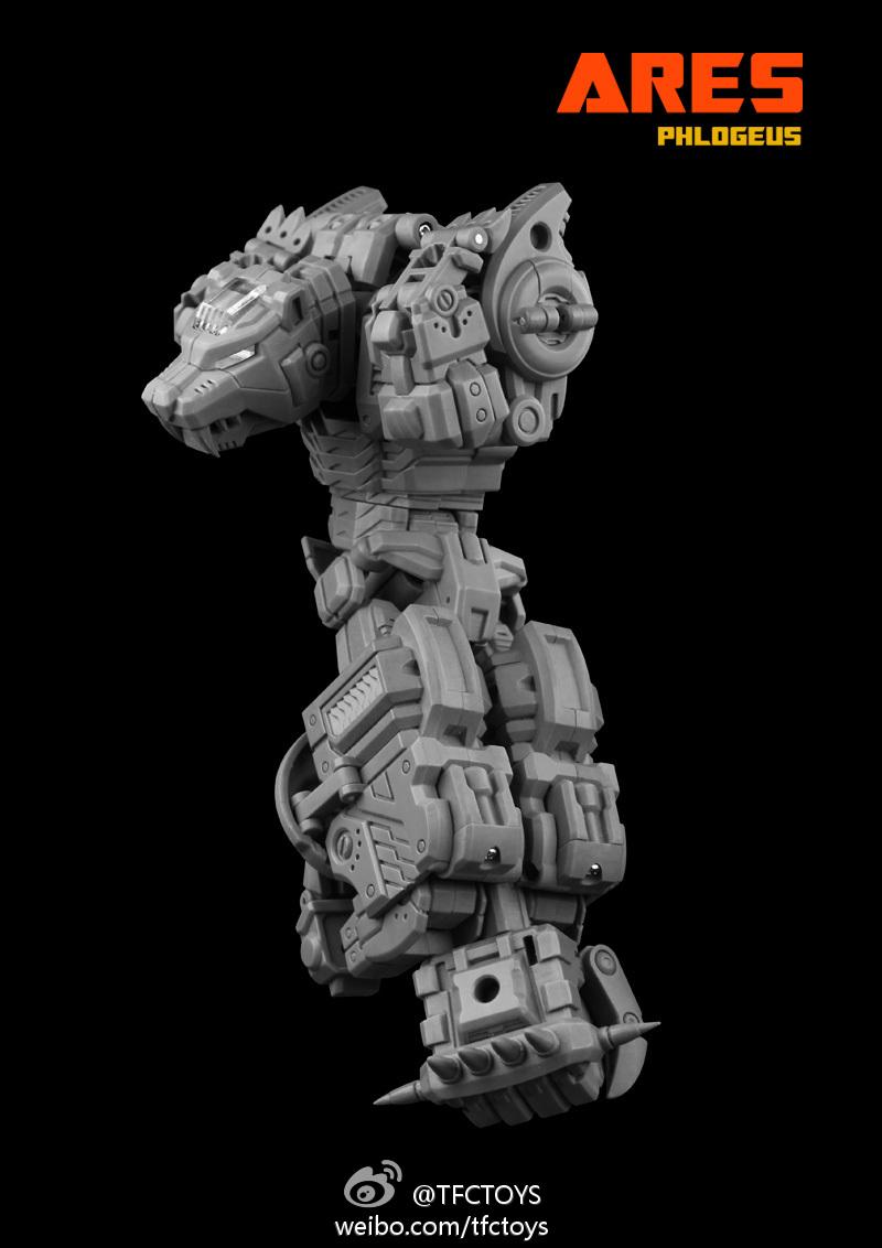 """[TFC Toys] Produit Tiers - Jouet """"Projet Ares"""" - aka Prédacons 8271cf16"""