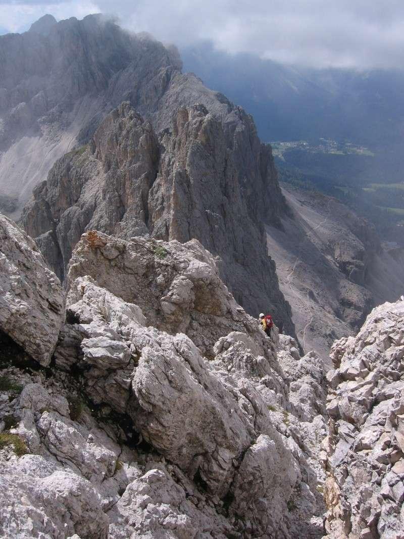 Cima Catinaccio: Cresta Sud (integrale) 1110