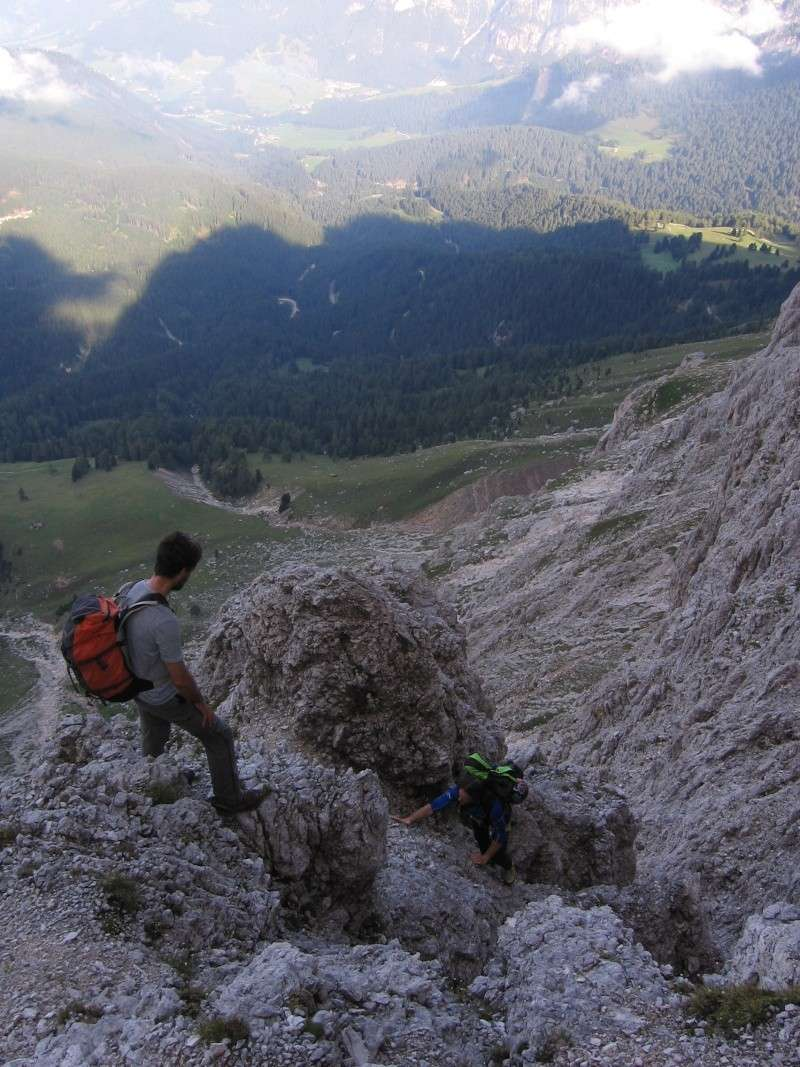 Cima Catinaccio: Cresta Sud (integrale) 410