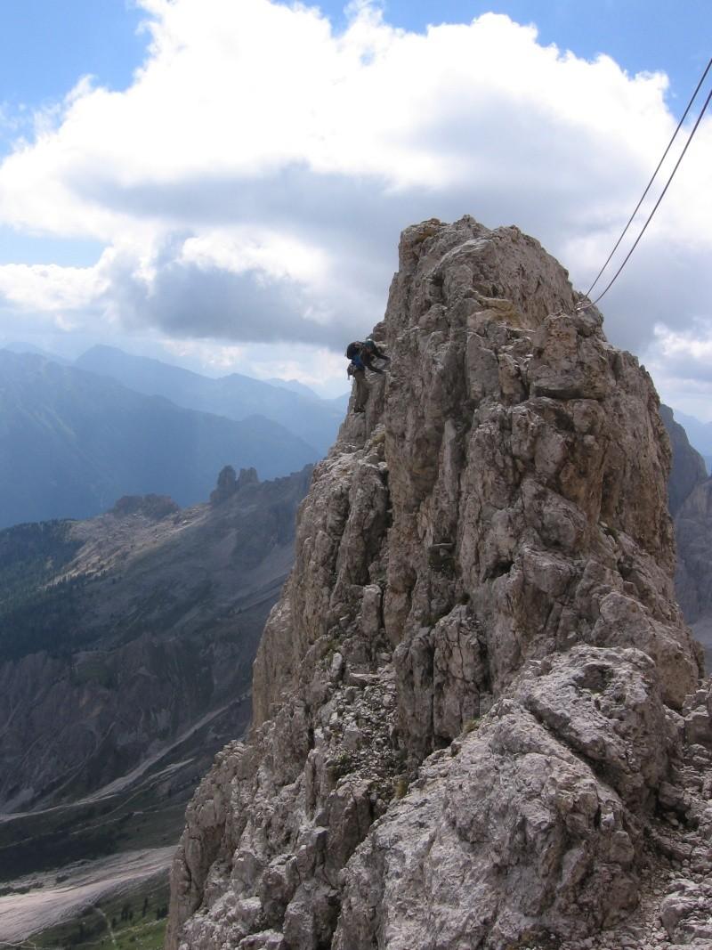 Cima Catinaccio: Cresta Sud (integrale) 910