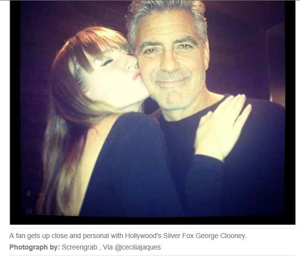 George Clooney spotted in Vancouver - Page 2 George13