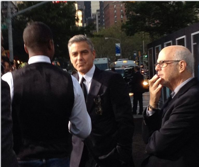 George Clooney at the Gravity, New York Premiere ~ Oct 01, 2013 Gravit10