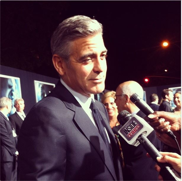 George Clooney at the Gravity, New York Premiere ~ Oct 01, 2013 Gravit13