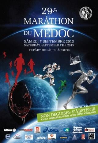 Marathon du Médoc  (33) 07/09/13 Affich13