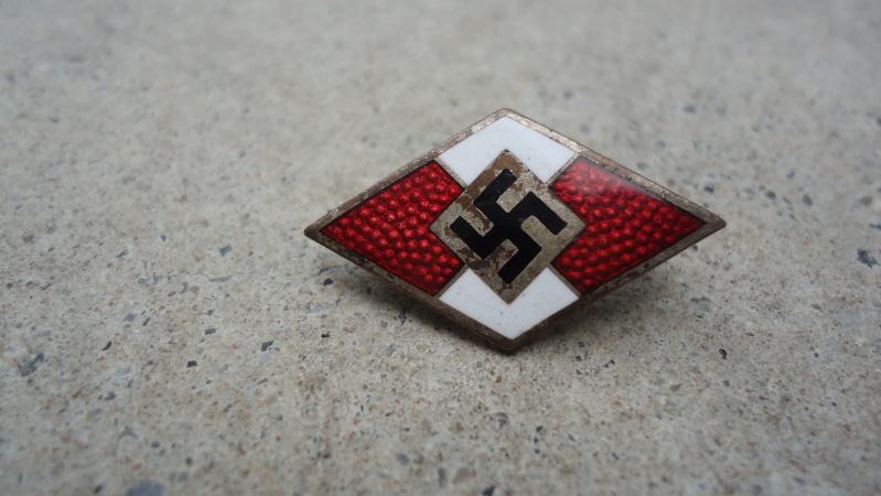 Brassard de la jeunesse Hitlerienne.... Dsc04960