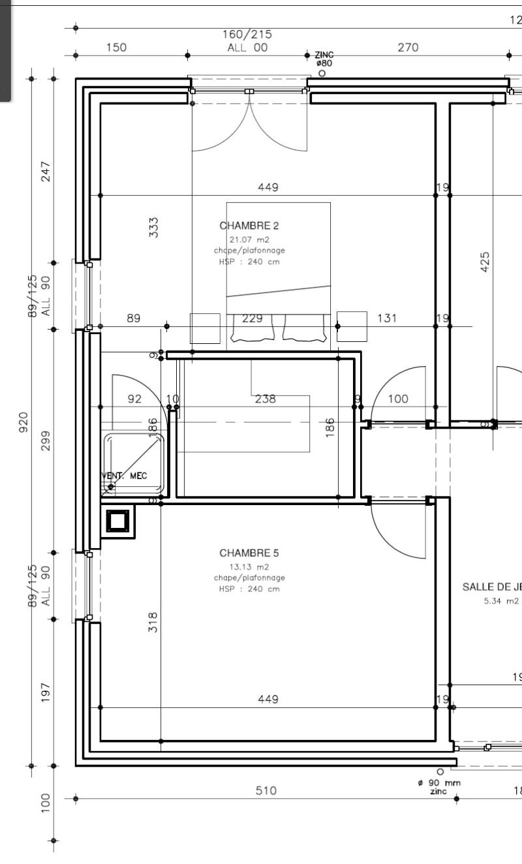 Suite parentale dans 21 m2 Plan10