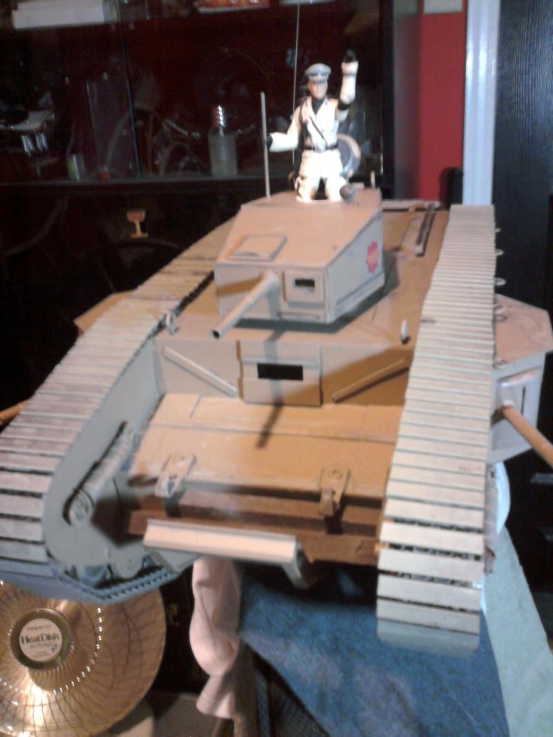 MK VII / Last Crusade WW1 Tank  - Page 3 Photo112