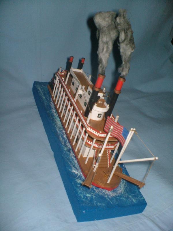 Mississippi Raddampfer von Mini Mamoli 6110