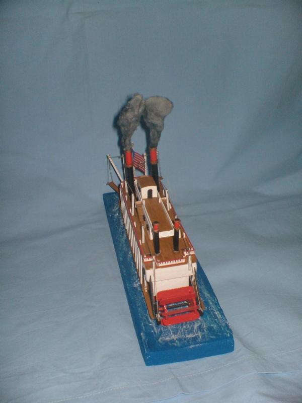 Mississippi Raddampfer von Mini Mamoli 6211