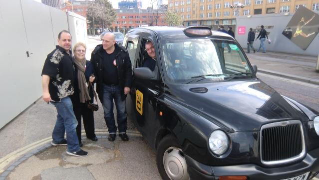 Stage à Londres les 12 et 13 avril 2013 Taxi10