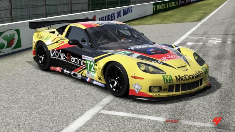 Livrée Corvette Racing ZR1 Corvet10