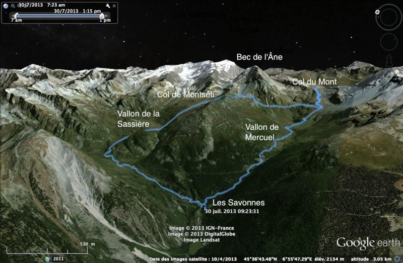 Sainte-Foy - Col du Mont - Col de Montséti Montse10