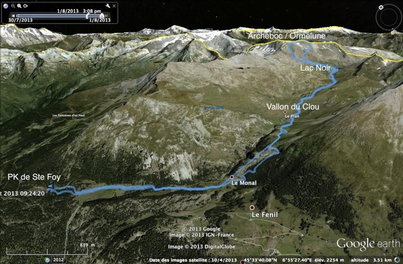 Le Monal - Vallon du Clou - Pointes d'Ormelune et d'Archeboc Ormelu10