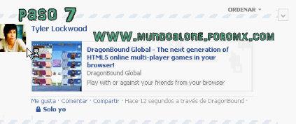 COMO RECLAMAR TU CASH EN DRAGONBOUND SIN PUBLICARLO EN TU PERFIL DE FACEBOOK Dragon17