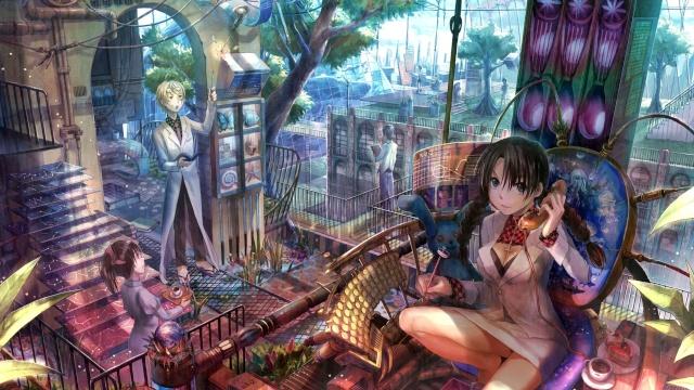Orte und Gebäude (Beyond Future) Anime-10