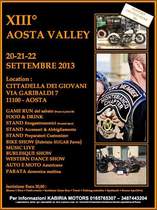 XIII Aosta Valley 20/21/22 Settembre 2013 Aosta_10