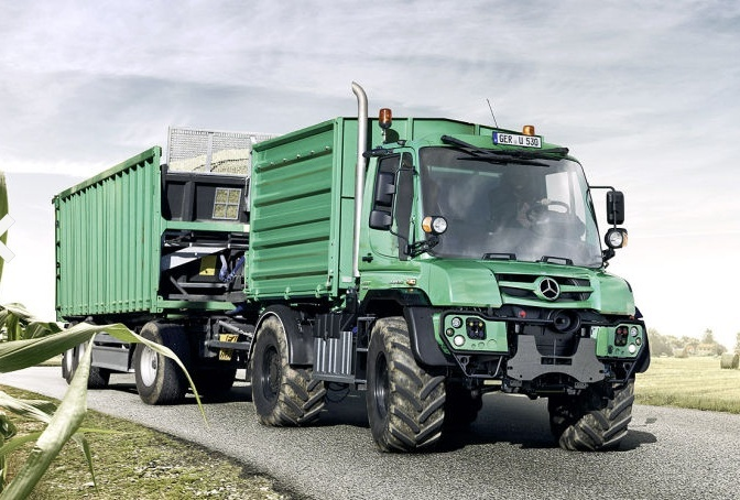 L'Unimog nouveau est arrivé,cuvé 2013 U410